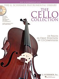 THE CELLO COLLECTION   EASY/INTERMEDIATE  PARTITURAS  CD PARA CELLO  ACOMPAÑAMIENTO DE PIANO