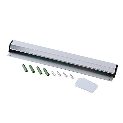 Kingus Wandmontage Tab Order Grabber Bill Tickethalter aus Aluminium für Restaurant Cafe Bar Aluminium Slide Order Rack