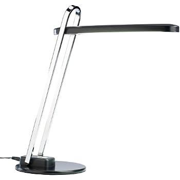 Lunartec Bürolampen: Dimmbare Schreibtisch-Lampe, LED, 7,1 Watt, schwarz (Büro-Tischlampen)