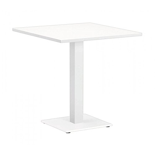 Now's Home Indoor Outdoor - Table Long Island Blanche 70x70, Now's Home