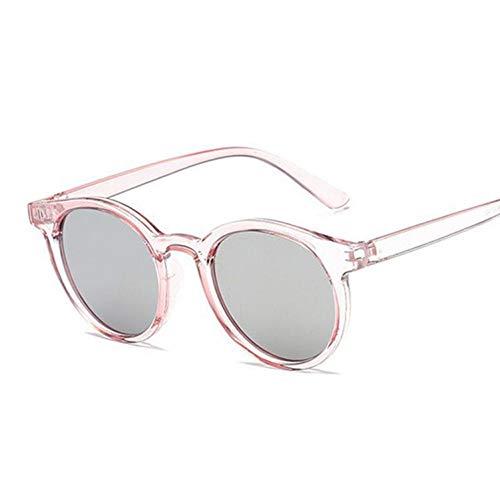 Kjwsbb Retro Sonnenbrille Damen Klein Schwarz Weiß Runde Sonnenbrille Damen Retro UV400