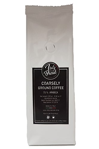 Hazelnut flavoured Ground Coffee – 600 gr.- Premium Quality Coffee with sweet notes of HAZELNUT – 80% Arabica Made in Italy (Pack of 4) 31BSHHqqnIL