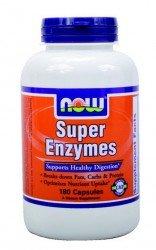 Now Foods   Super-Enzyme   180 Kapseln   glutenfrei