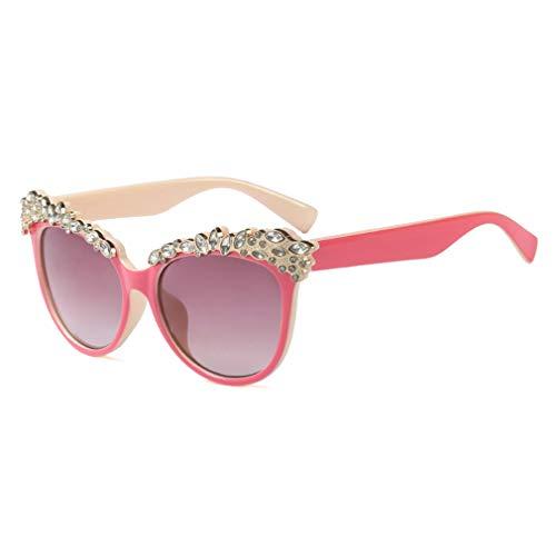 Yying Kids Sunglasses Baby 3-8 Jahre Mädchen Cute Cat Eye Sonnenbrillen schützen UV400 Eyewear C1