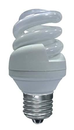 Peers Hardy Memolux Low Energy Bulb 11W Mini Spiral ES (Colour Light Warm White 2700 Kelvins), 8 Pack