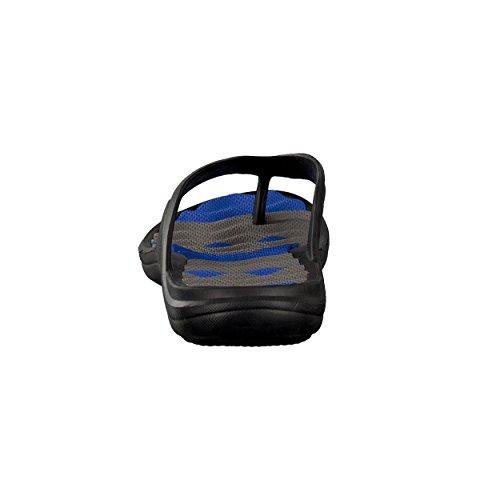 brandsseller, Ciabatte da spiaggia uomo Blu/Nero