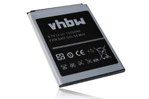 Batterie 1500mAh pour smartphone Samsung Galaxy S4 Mini, Duos, LTE, GT-I9190, GT-I9192, GT-I9195, SGH-I257, SHV-E370 comme B500.