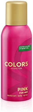 UNITED COLORS OF BENETTON Colors Pink Deodorant Spray 150ml