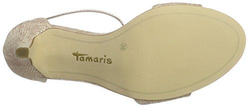 Tamaris Damen 28392 T-Spange Pink (SALMON STR/COP 549)