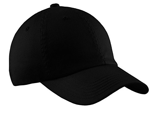 Port Authority® Portflex® Unstructured Cap. C861 Black L/XL (Port Authority Twill Cap)