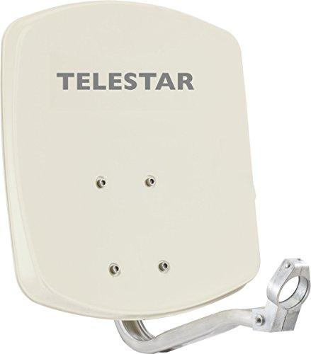 Telestar Alurapid 33 (33cm Aluminium-Spiegel, Alurapid-Halterung, 40mm LNB-Halterung) beige