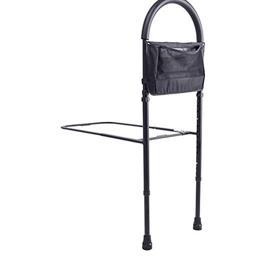 Bedside Handrail, Aluminiumlegierung Alte Schwangere Frau Bedside Armrest Stand, Mit Fußauflage