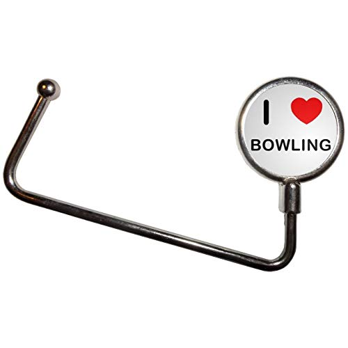 Bowling Tabelle (I Love Bowling - Handtasche Tabelle Haken Kleiderbügel Taschenhalter)