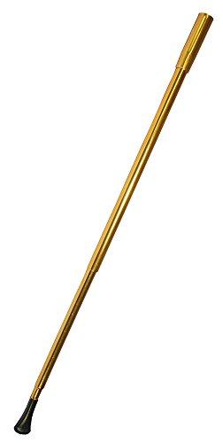 Zigarettenspitze zum Charleston Kostüm 21 cm - Gold - Tolles Zubehör zum 20er Jahre Kostüm - Karneval Mottoparty (21 Kostüme)