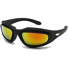 EnzoDate Daisy C5 ejército Gafas polarizado Kit de Lente 4, Juego de Guerra de Militares