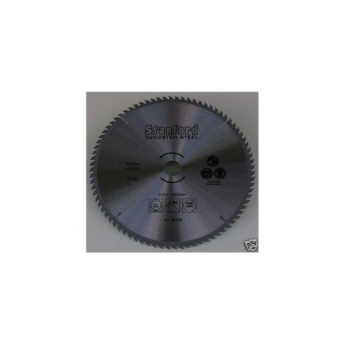 JUEGO DE 2HOJAS DE SIERRA CIRCULARES (METAL DURO  300X 30/25MM  80DIENTES) CORTE FINO