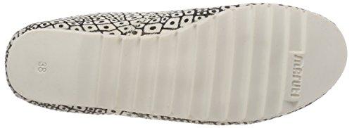 Maruti Damen Ginny Hairon Leather Stiefeletten Grau (Crocodile White)