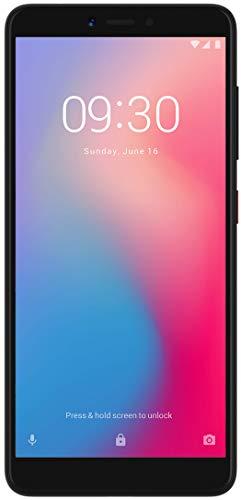 ZTE Smartphone Blade A7 Vita (13,84 cm (5,45 Zoll) HD+ Display, 32 GB interner Speicher (erweiterbar),Fingerabdrucksensor, Dual-SIM und LTE, Android 8) Schwarz