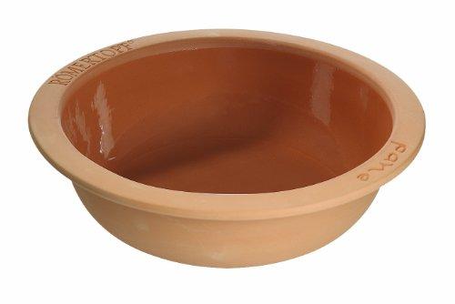 Römertopf Keramik Brotbackform Rund 3 Liter für 1000g Brot
