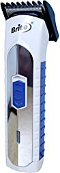 Brite BHT-630 Professional Rechargeable Trimmer - Hair Clipper for Men, Women
