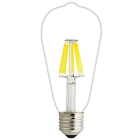 Pack of 5E27T648W LED Light Bulb, 60W Incandescent Bulb Equivalent,