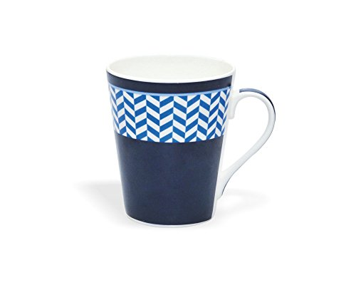 Clay Craft Zing 326 Bone China Milk Mug, 350ml/6cm, Multicolour
