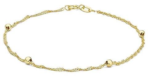 Carissima Gold - Bracelet - Femme - Or Jaune 375/1000 (9 Cts) 0.82 Gr