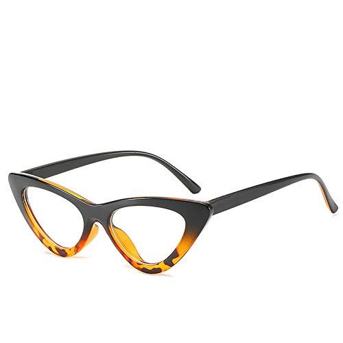 Yangjing-hl Mode Frame Brille net rot vibrierenden Brillengestell Persönlichkeit flachen Spiegel weiblich auf schwarzen Bohnen Rahmen