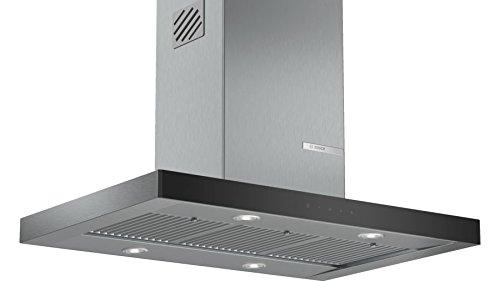 Bosch Serie   4 90 cm Island Stainless Steel Hood
