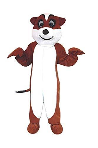 Erdmännchen Kostüm Einheitsgrösse L- XL Karneval Fasching Fastnacht Hamster (Hamster Kostüm Für Erwachsene)
