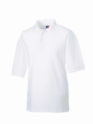 Jerzees Pique Polo Shirt 6XL White (Golf-polo-shirt Jerzees)