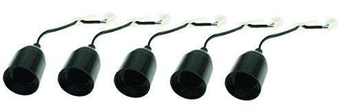 Blass Elektro 30495 Renovierungsfassungen E27, 5 Stück, 100 W, 240 V -