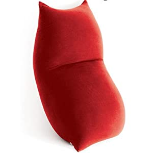 Baloo Bean Bag Chair Colour: Red