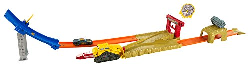 Hot Wheels - Bulldoze Blast Track Set (djf04)