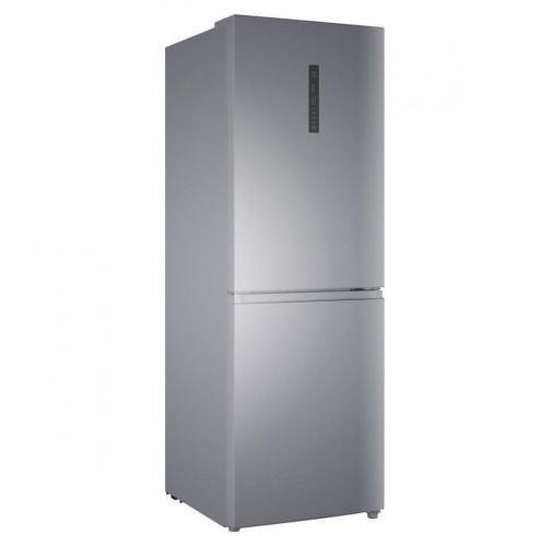Haier C3FE632CSJ Autonome 311L A+ Argent réfrigérateur-congélateur - Réfrigérateurs-congélateurs (311 L, Pas de givre (réfrigérateur), SN-T, 12 kg/24h, A+, Argent)