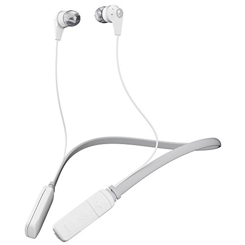 Auriculares internos inalámbricos con micrófono Skullcandy Ink'd, BLANCO/GRIS