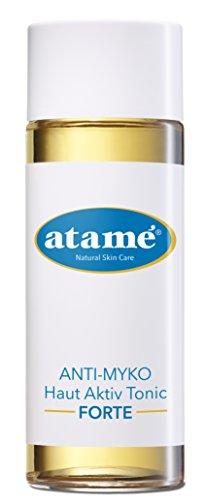 Atame ANTI-MYKO Haut Aktiv Tonic FORTE, Toner zur Reinigung, Hautpflege auch bei Akne, Gesichtswasser, Gesichtsreinigung, natürliche Inhaltsstoffe (100ml)