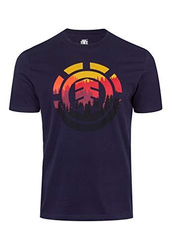 Glimpse Icon T-Shirt - Eclipse Navy Größe: XL Farbe: Eclipse Navy Element Herren