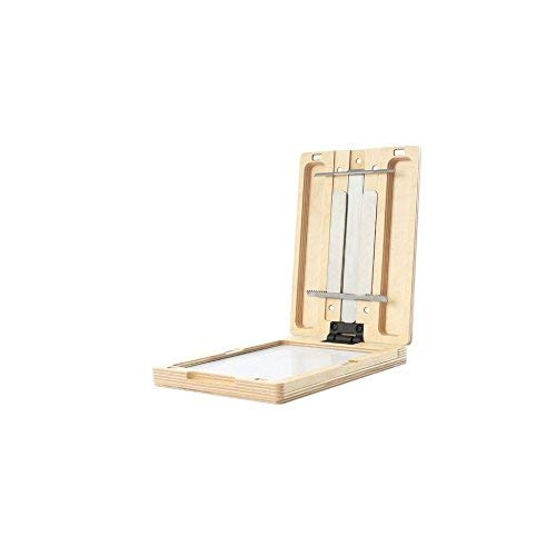 New Wave U.Go Plein Air Anywhere Pochade Box, Ultra Lightweight Baltic Birch Wood with Stainless Steel and Aluminum Construction, Small Measures 6 x 8 x 1.25 inches (00703) -