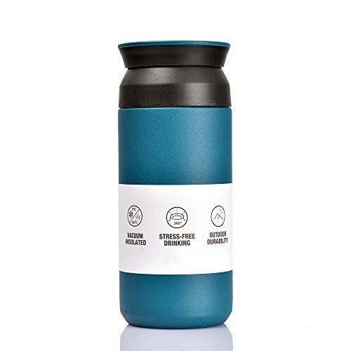 BOHORIA Premium Edelstahl Kaffee-to-Go-Becher - Isolierbecher -...