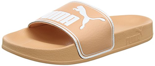 Puma Leadcat, Chanclas Unisex Adulto, Beige (Muted Clay White), 38 EU