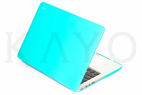"KAYO ESSENTIALS- For MacBook Pro 13.3"" with Retina Display A1502/A1425(NEWEST VERSION) Matte Case with Soft Smooth Silky Touch- AERO BLUE"