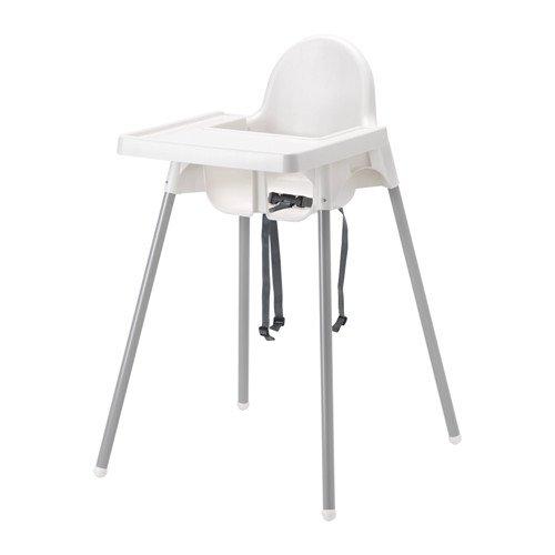 ikea-antilop-chaise-haute-avec-plateau-couleur-blanc-argent-90-cm