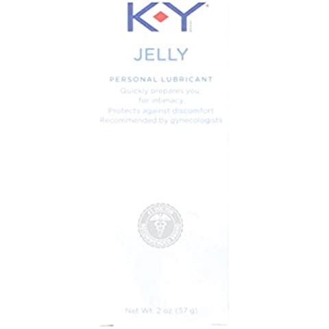 K-Y Jelly Lubricant 2oz (2 Pack) by K-Y