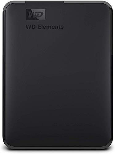 WD Elements Disque dur portable externe - USB 3.0 4TB noir