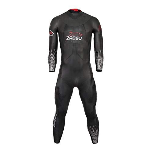 ZAOSU Herren Neoprenanzug Racing + 2019 | Triathlon Wetsuit fürs Freiwasser Schwimmen und Wettkämpfe, Größe:M
