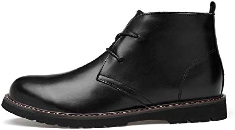 HYLFF Stivali Stivali Stivali da Uomo in Pelle, Scarpe da Lavoro, Uomo, Scarpe da Uomo, Brogues, Scarpe in Pelle Oxford, comode... | Produzione qualificata  b61ba9