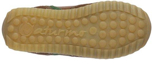 Naturino ISAO Unisex-Kinder Sneakers Braun (COGNAC9123)