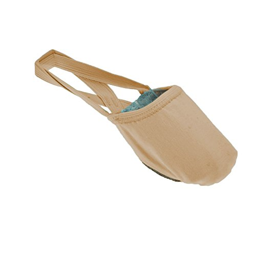 So Danca BA41 Nude Stretch Canvas Half Sole Shoe Medium