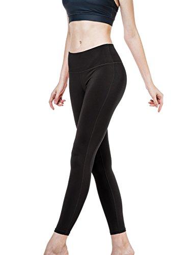 Damen Yoga Pants Fitness Slimming Leggings W VERSTECKTE Tasche yp06 (Versteckte Pic)